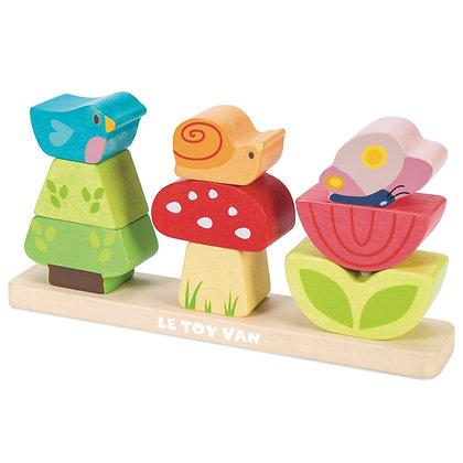 Le Toy Van - Mon petit jardin empilable