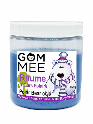 SLIME MOUSSANTE RHUME DE OURS POLAIRE 200G | GOMMEE