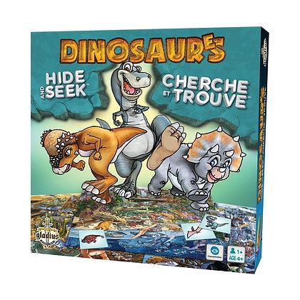 Gladius - Cherche et trouve - Dinosaures