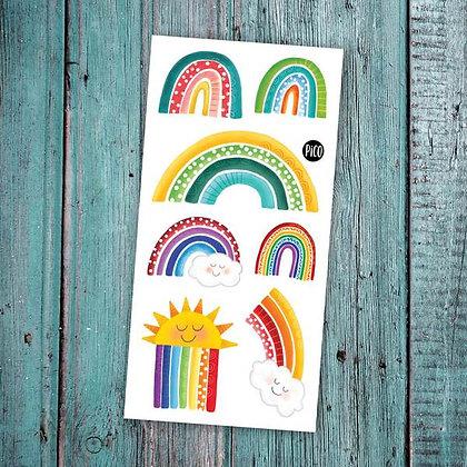 Pico-Les arcs-en-ciel colorés