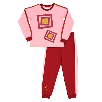 Pyjama passe-carreau