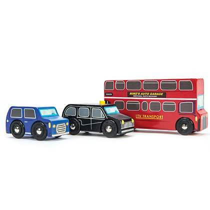 Le Toy Van - Set de voitures de Londres