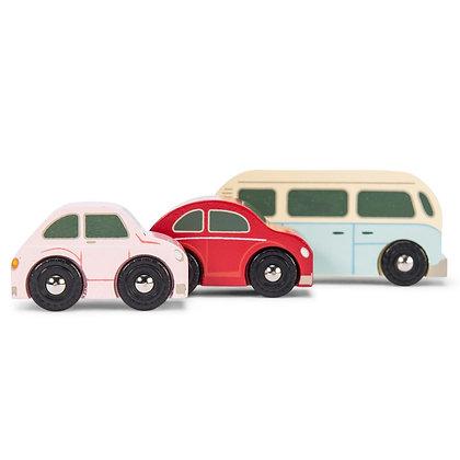 Le Toy Van - Ensemble de voitures rétro