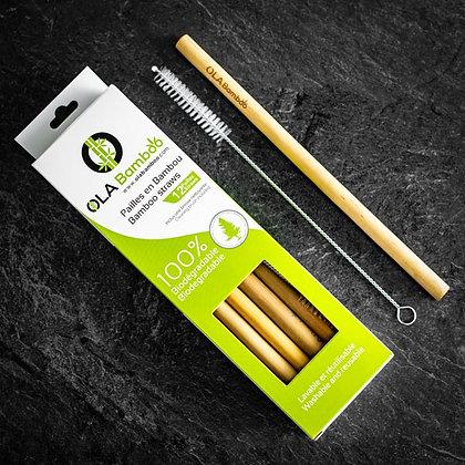 Ola Bamboo - Pailles en bambou
