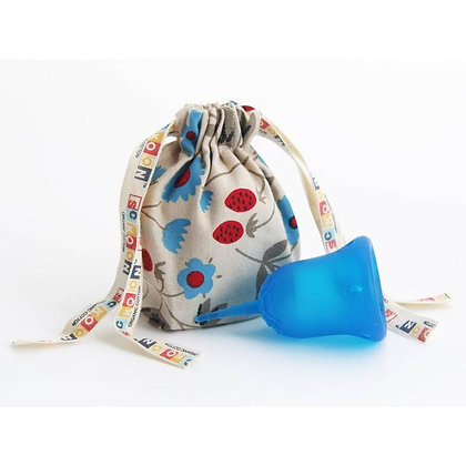 Coupe menstruelle Sckoon - Bleu