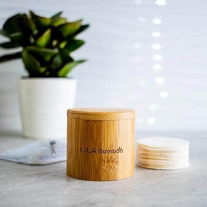 Ola Bamboo - Coffret – Tampons démaquillants réutilisables