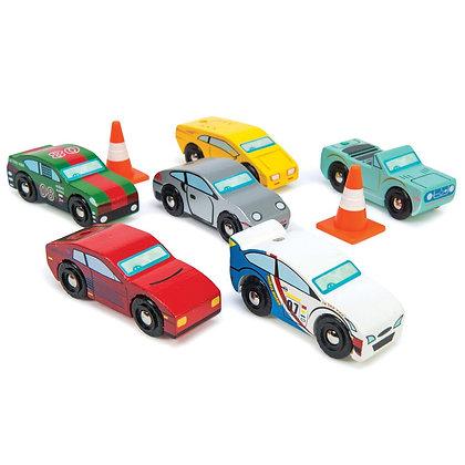 Le Toy Van - Ensemble (6) voitures sports Montecarlo