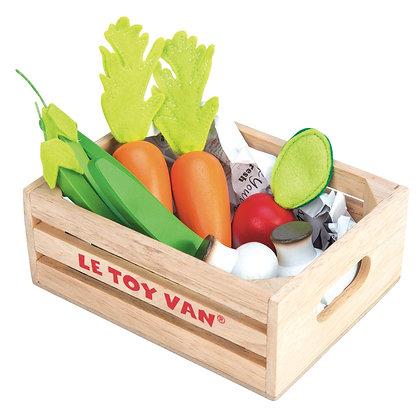 Le Toy Van - Caisse de légumes 5 par jour