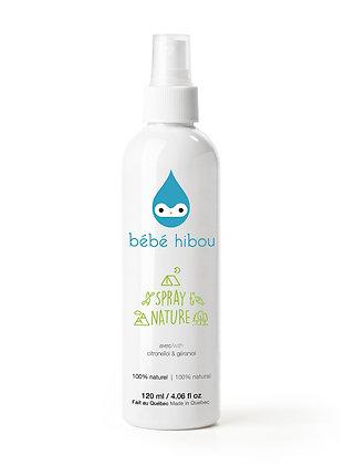 Bébé Hibou-Spray Nature