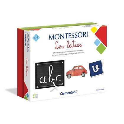 CLEMENTONI - MONTESSORI LES LETTRES