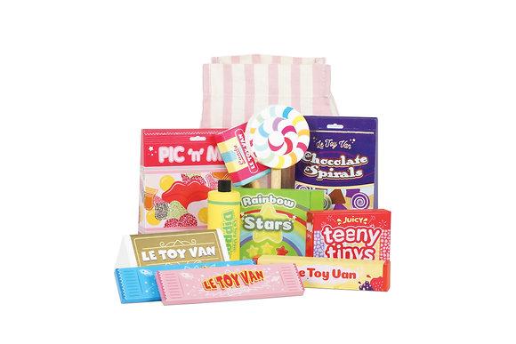 Le Toy Van - Bonbons, friandises et pochette en tissu