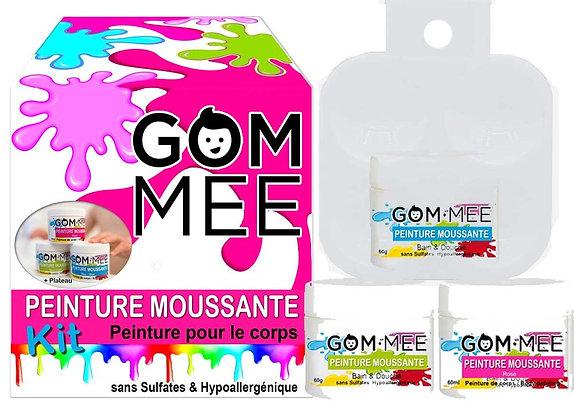 NETTOYANT PEINTURE MOUSSANTE CORPS BOÎTE DE 3 X 60G BL-VR-RS | GOMMEE