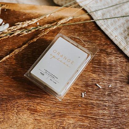 Marée-Pastilles de cire de soya pour diffuseur Orange Épicées