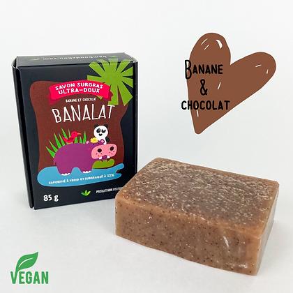 Savon Banane et chocolat Bambou d'Chou