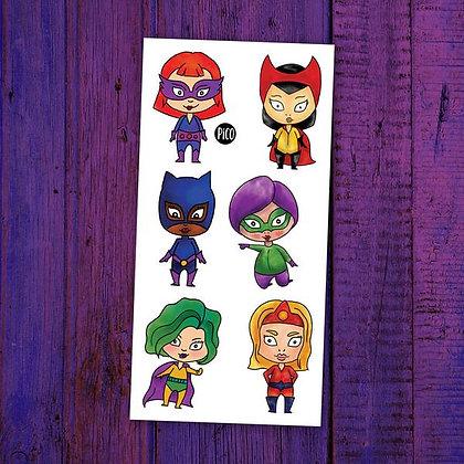 Pico-Les petites super-héroïnes