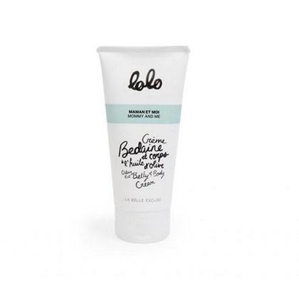 LOLO- Crème bedaine et corps à l'huile d'olive 150 ml