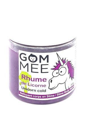 SLIME MOUSSANTE RHUME DE LICORNE 200G | GOMMEE