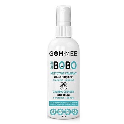 OUCH BOBO NETTOYANT ANTIMICROBIEN SANS RINÇAGE 60ML | GOMMEE