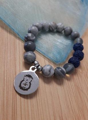 Olàlà Petit Tourbillon - Bracelet Aromathérapie Bleu