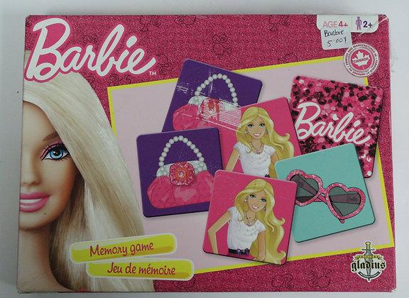 jeu de mémoire Barbie