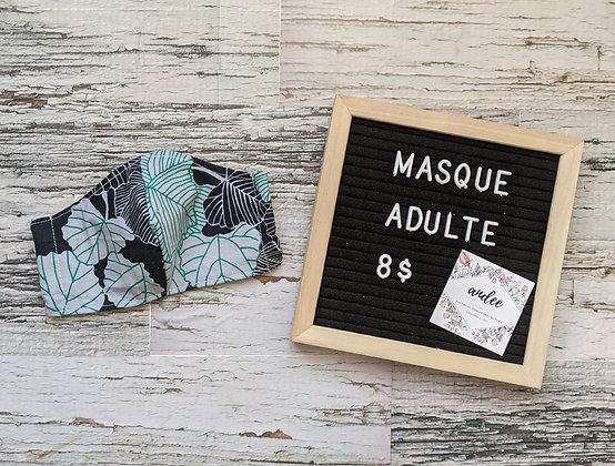 Masque adulte - Feuille