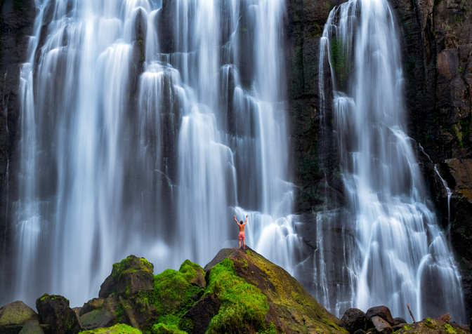 Marokopa Falls New Zealand