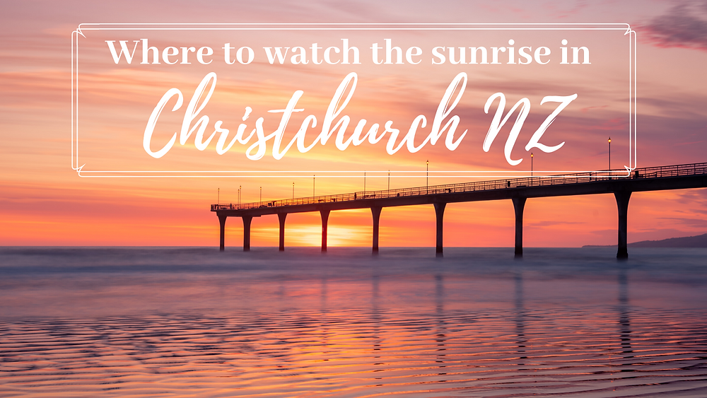 new brighton pier as cover image for best spots to watch sunrise in christchurch new zealand