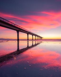 New Brighton Pier Sunrise