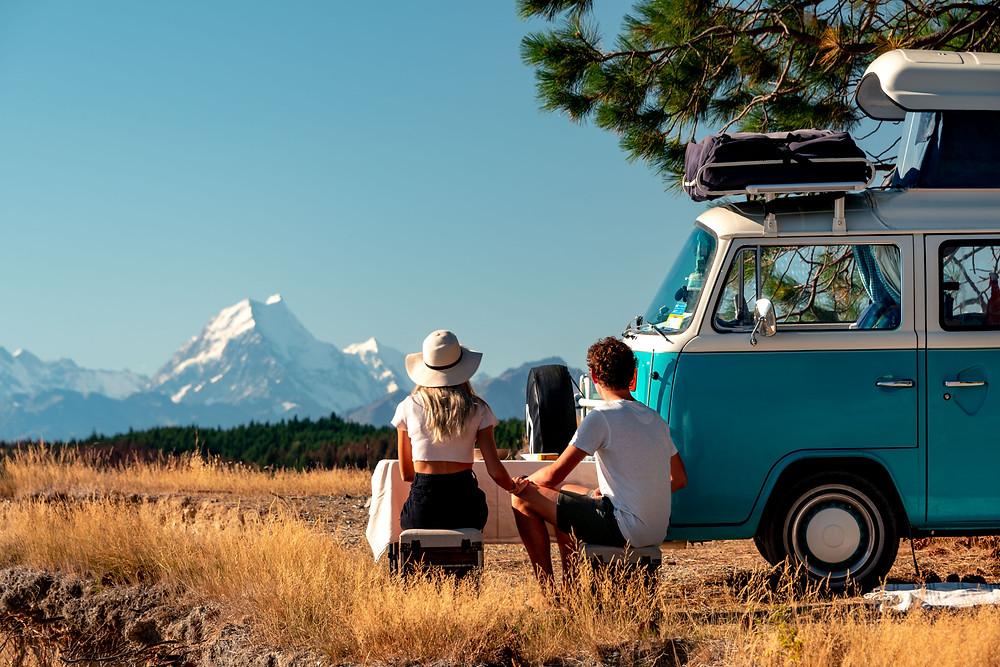 Mount Cook Aoraki Roadtrip picnic New Zealand