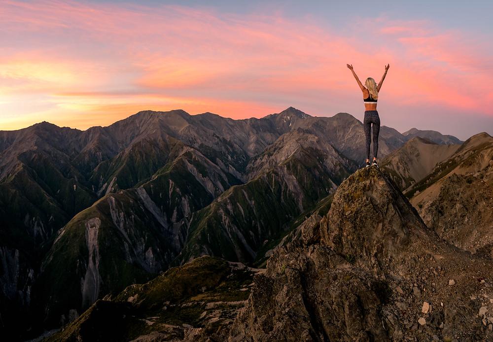 Mount Fyffe Kaikoura Sunset