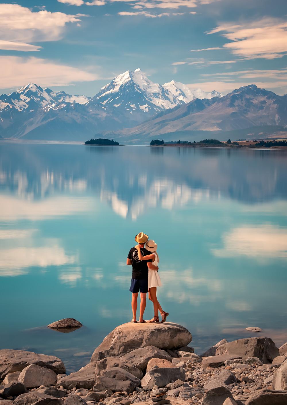 Lake Pukaki Mount Cook Aoraki