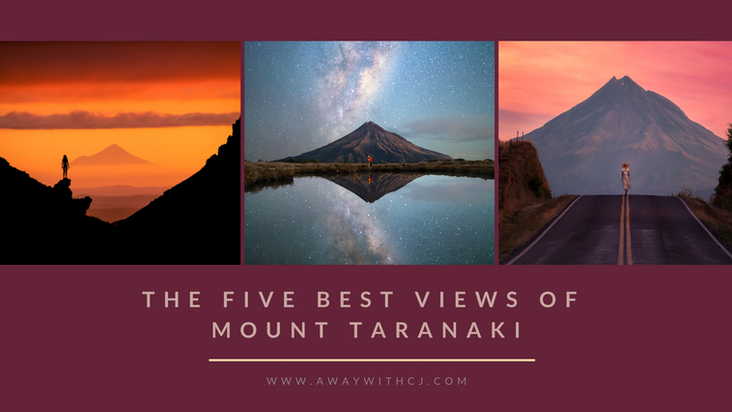 Where to get the best view of Mount Taranaki! Our five favourite spots!