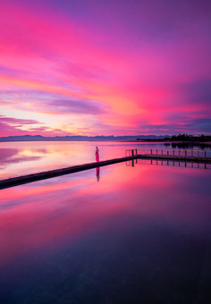 Motueka Saltwater Baths Sunrise 2.0