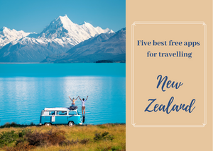 five 5 best free apps for travelling New Zealand