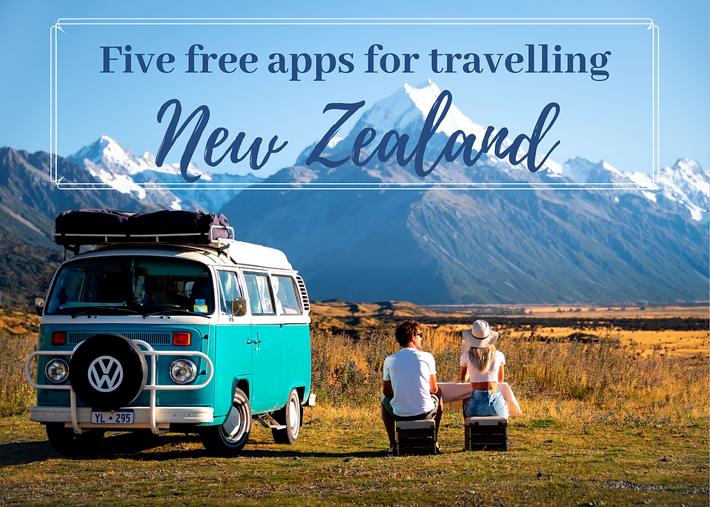5 Five best free apps for travelling New Zealand