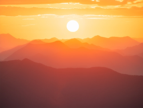 Mt Stokes Sunset