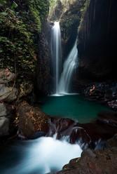 git git twin waterfall bali long exposure