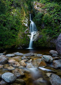 Dorothy Falls West Coast New Zealand Photography Waterfall