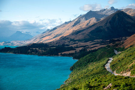 Road to Glenorchy New Zealand