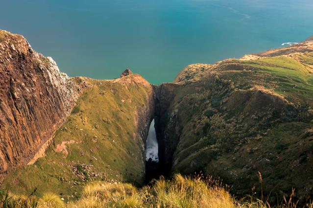 Chasm - Otago Peninsula