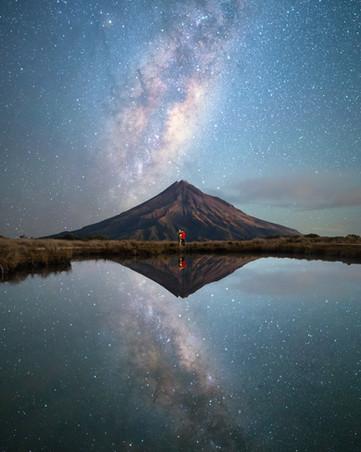 Milky Way above Taranaki