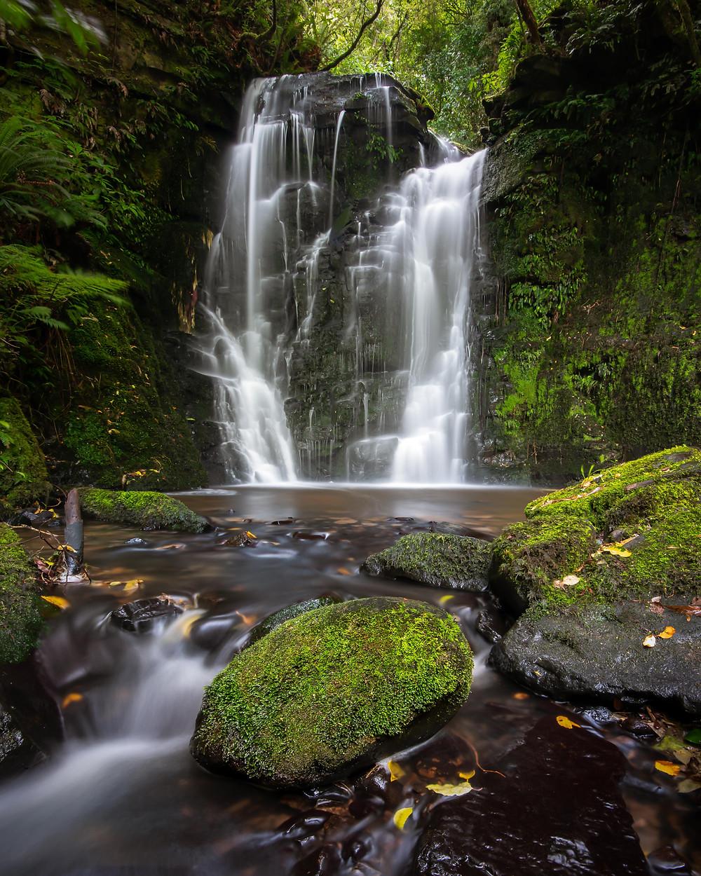 Matai Falls Waterfall the Catlins New Zealand NZ