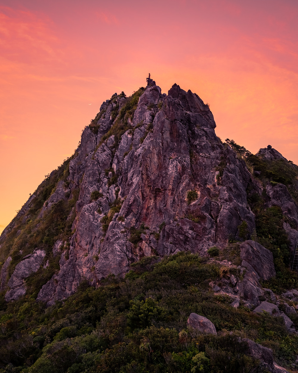The Pinnacles Coromandel Photography Sunrise Girl