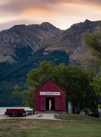 Glenorchy Old Red Shed
