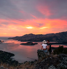 Hoon Hay Scenic Reserve Christchurch Sunset Photography Travel Guide