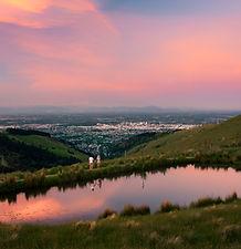 Port Hills Tarn Travel Guide Christchurch Sunset spot