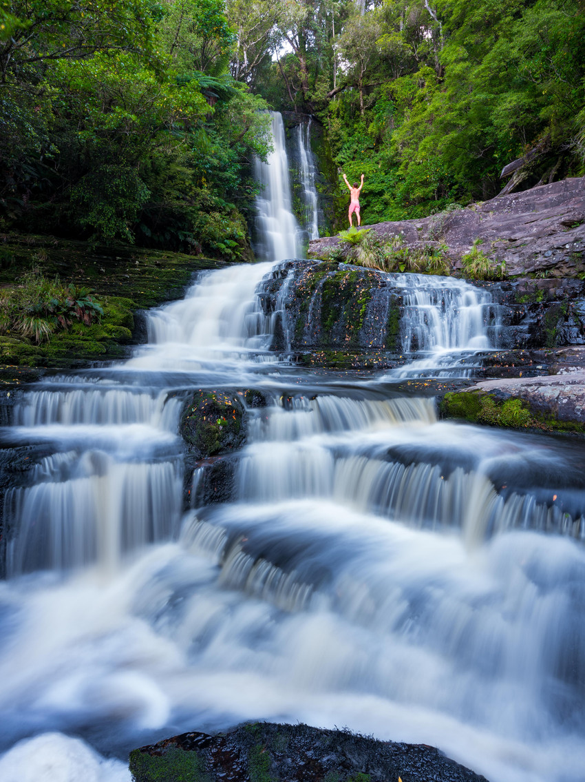 McLean Falls Waterfall the Catlins New Zealand NZ