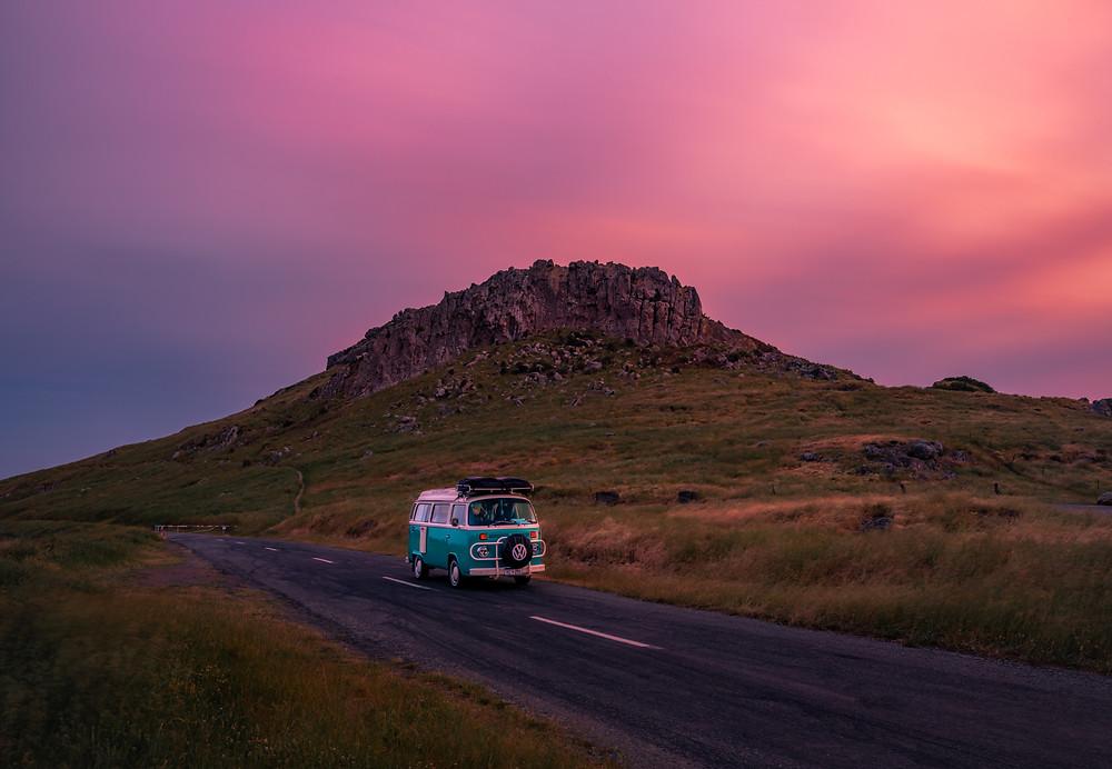 Witch Hill Christchurch Sunset