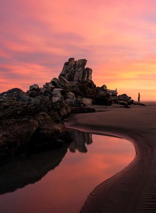 Shag Rock Sunrise