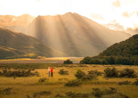 Arthurs Pass Sunbeam